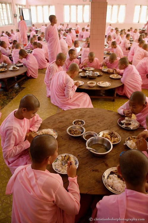 Nuns in Myanmar/Burma