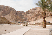 Israel, Dead Sea, Qumran - General view