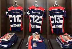 General view of Bristol Shirts  - Mandatory by-line: Alex Davidson/JMP - 08/12/2017 - RUGBY - Ashton Gate Stadium - Bristol, England - Bristol Rugby v Leinster 'A' - B&I Cup