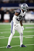Dallas Cowboys cornerback Anthony Brown (30) gets set during the NFL week 13 regular season football game against the New Orleans Saints on Thursday, Nov. 29, 2018 in Arlington, Tex. The Cowboys won the game 13-10. (©Paul Anthony Spinelli)