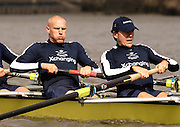 Putney, London, ENGLAND, 28.03.2006, Oxforf leftJake Wetzal, and Bastien Ripoll,.  2006, Boat Race, Varsity, Tideway Week, Tuesday,  © Peter Spurrier/Intersport-images.com.[Mandatory Credit Peter Spurrier/ Intersport Images] Varsity, Boat race. Rowing Course: River Thames, Championship course, Putney to Mortlake 4.25 Miles