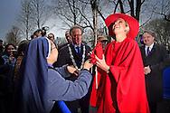 DEN BOSCH - Queen maxima of the netherlands opens the Jheronimus Acadamy of Data Science  in Den Bosch the netherlands . <br /> Koningin Maxima opent donderdag 1 december de Jheronimus Academy of Data Science (JADS) in het voormalig klooster Mari&euml;nburg in 's-Hertogenbosch.  ROBIN UTRECHT