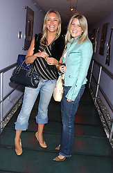 Left to right, SOPHIE BISHOP and OLIVIA McCALL at a polo players party hosted by AJM International Publishing and Cartier celebrating the 21st anniversary of the Cartier International Polo held at The Collection, London SW3 on 19th July 2005.<br /><br />NON EXCLUSIVE - WORLD RIGHTS