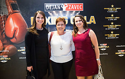 Zavec Family during Dejan Zavec Boxing Gala event in Laško, on April 21, 2017 in Thermana Lasko, Slovenia. Photo by Vid Ponikvar / Sportida