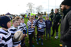 Cooper Vuna and Jamie Shillcock deliver coaching sessions at Stourbridge RFC  - Mandatory by-line: Dougie Allward/JMP - 19/03/2017 - Rugby - Stourbridge RFC - Stourbridge, England - Worcester Warriors Community Rugby