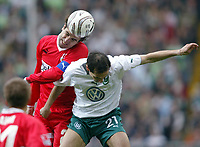 v.l. Zvonimir Soldo, Martin Petrov Wolfsburg<br /> Bundesliga VFL Wolfsburg - VFB Stuttgart