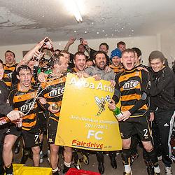 Alloa win the 3rd division V Elgin City 7/4/2012