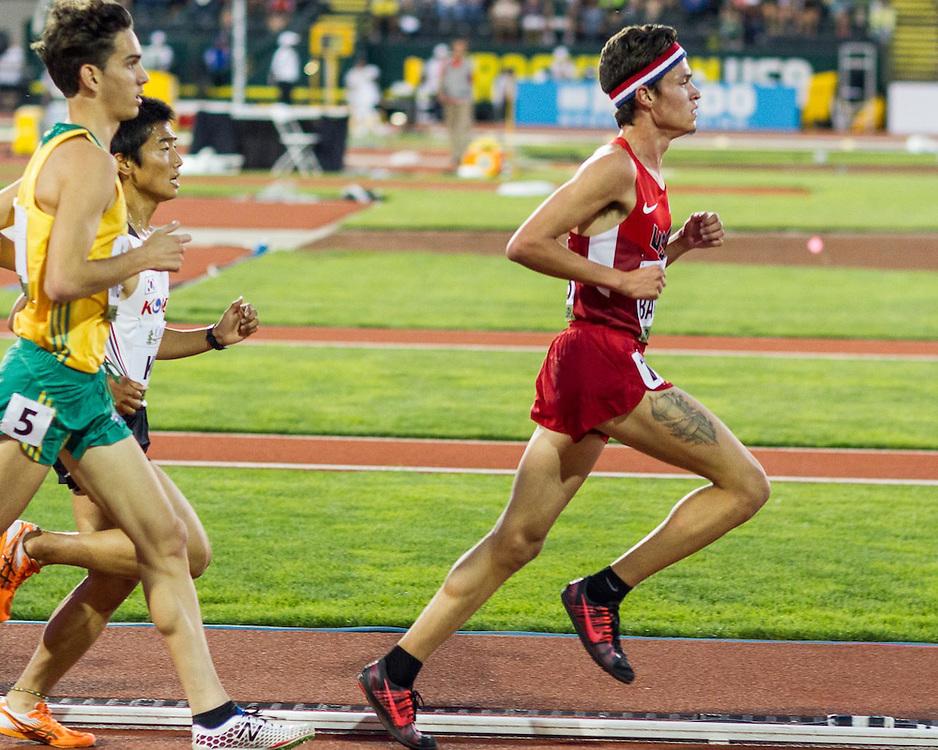 mens 5000 meters, Brian Barraza, USA