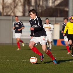 Falkirk's Blair Alston..Dumbarton 0 v 2 Falkirk, 23/2/2013..©Michael Schofield.