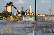September 3,  2017, standing water crippled parts of Beaumont Texas, days after Harvey's rain stopped. Island  Park Beaumont Shop, a pipe manufaturing shop closed due to flooding.