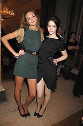 Left to right, TAMSIN EGERTON and TALULAH RILEY at the Royal Academy of Art Summer Exhibition Preview Party on 4th June 2008.<br />
