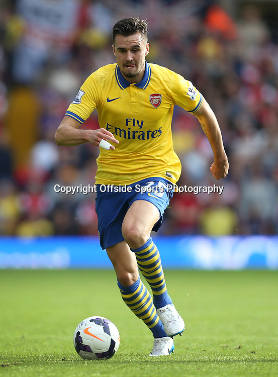6th October 2013 - Barclays Premier League - West Bromwich Albion v Arsenal - Carl Jenkinson of Arsenal - Photo: Simon Stacpoole / Offside.