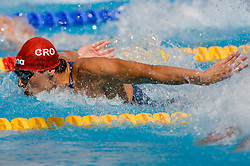 Mario Todorovic of Croatia competes during the Men's 100m Butterfly Heats during the 13th FINA World Championships Roma 2009, on July 31, 2009, at the Stadio del Nuoto,  in Foro Italico, Rome, Italy. (Photo by Vid Ponikvar / Sportida)