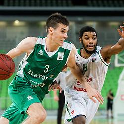 20161107: SLO, Basketball - Liga Nova KBM 2016/17, KK Union Olimpija vs KK Zlatorog Lasko
