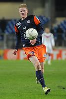 FOOTBALL - FRENCH LEAGUE CUP 2012/2013 - 1/8 FINAL - MONTPELLIER HSC v GIRONDINS BORDEAUX - 31/10/2012 - PHOTO SYLVAIN THOMAS / DPPI - GAETAN CHARBONNIER (MHSC)