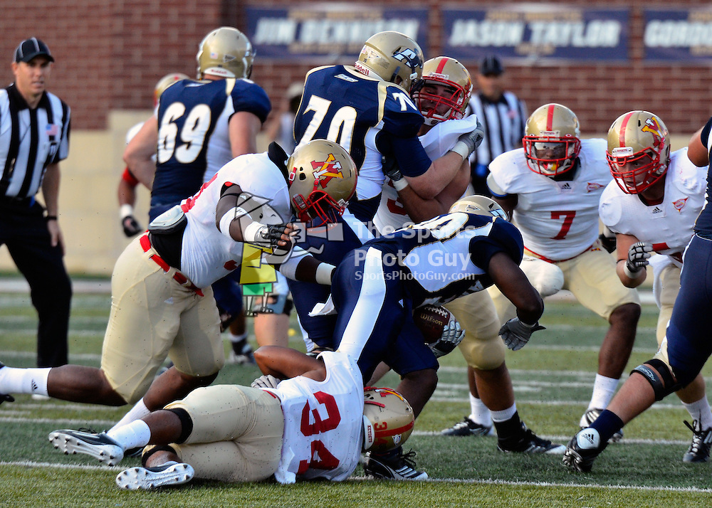 Akron Zips halt skid, down VMI 36-13