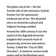 Armenia - Ani