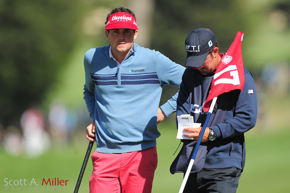 Keegan Bradley during the second round of the 112th U.S. Open at The Olympic Club on June 15, 2012 in San Fransisco. ..©2012 Scott A. Miller
