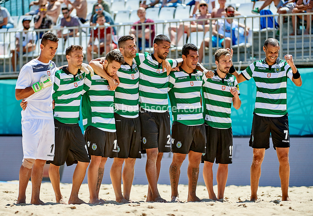 NAZARE, PORTUGAL - MAY 29:  Euro Winners Cup 2017 at Praia da Nazare on May 29, 2017 in Nazare , Portugal. (Photo by Lea Weil)