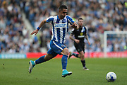 Brighton & Hove Albion central midfielder Beram Kayal (7) at full speed during the EFL Sky Bet Championship match between Brighton and Hove Albion and Blackburn Rovers at the American Express Community Stadium, Brighton and Hove, England on 1 April 2017.