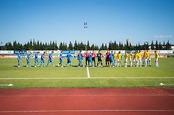 Players during football match between NK Bravo and NK Domzale in 6th Round of Prva liga Telekom Slovenije 2019/20, on August 18, 2019 in Sports park ZAK, Ljubljana, Slovenia. Photo by Anze Petkovsek / Sportida