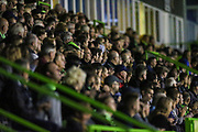 The East stand during the EFL Trophy match between Forest Green Rovers and Cheltenham Town at the New Lawn, Forest Green, United Kingdom on 4 September 2018.
