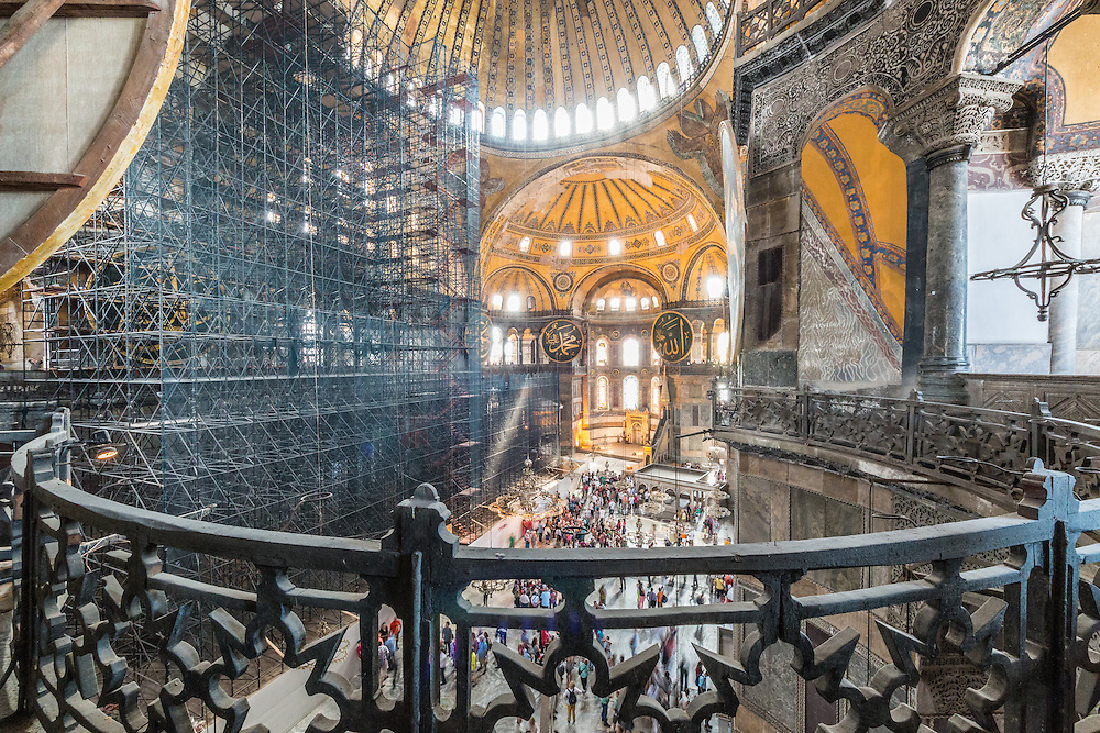 From its construction in 537 until 1453, Hagia Sophia served as an Eastern Orthodox cathedral and seat of the Patriarchate of Constantinople,[1] except between 1204 and 1261, when it was converted to a Roman Catholic cathedral under the Latin Empire. The building was a mosque from 29 May 1453 until 1931. It was then secularized and opened as a museum on 1935.