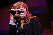 Pat Benatar performing at Verizon Wireless Amphitheater in St. Louis on July 10, 2010.