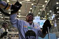 GET-ligaen Ice Hockey, 27. october 2016 ,  Stavanger Oilers v Stjernen<br /> Peter Lorentzen fra Stavanger Oilers etter kampen mot Stjernen<br /> Foto: Andrew Halseid Budd , Digitalsport