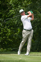 May 23, 2019 - Forth Worth, TX, U.S. - FORTH WORTH, TX - MAY 23: Charley Hoffman hits from the 6th tee during the first round of the Charles Schwab Challenge on May 23, 2019 at Colonial Country Club in Fort Worth, TX. (Photo by George Walker/Icon Sportswire) (Credit Image: © George Walker/Icon SMI via ZUMA Press)