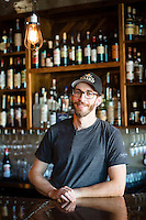 Co-owner and chef, Paul Losch, of Ruddick Wood in Newberg, Oregon.
