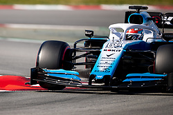 February 28, 2019 - Montmelo, Barcelona, Calatonia, Spain - George Russell of Williams F1 Racing Team seen in action during the second week F1 Test Days in Montmelo circuit, Catalonia, Spain. (Credit Image: © Javier Martinez De La Puente/SOPA Images via ZUMA Wire)