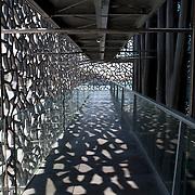Marseille, France, August 2013. MuCEM Musée des civilisations de l'Europe et de la Méditerranée.