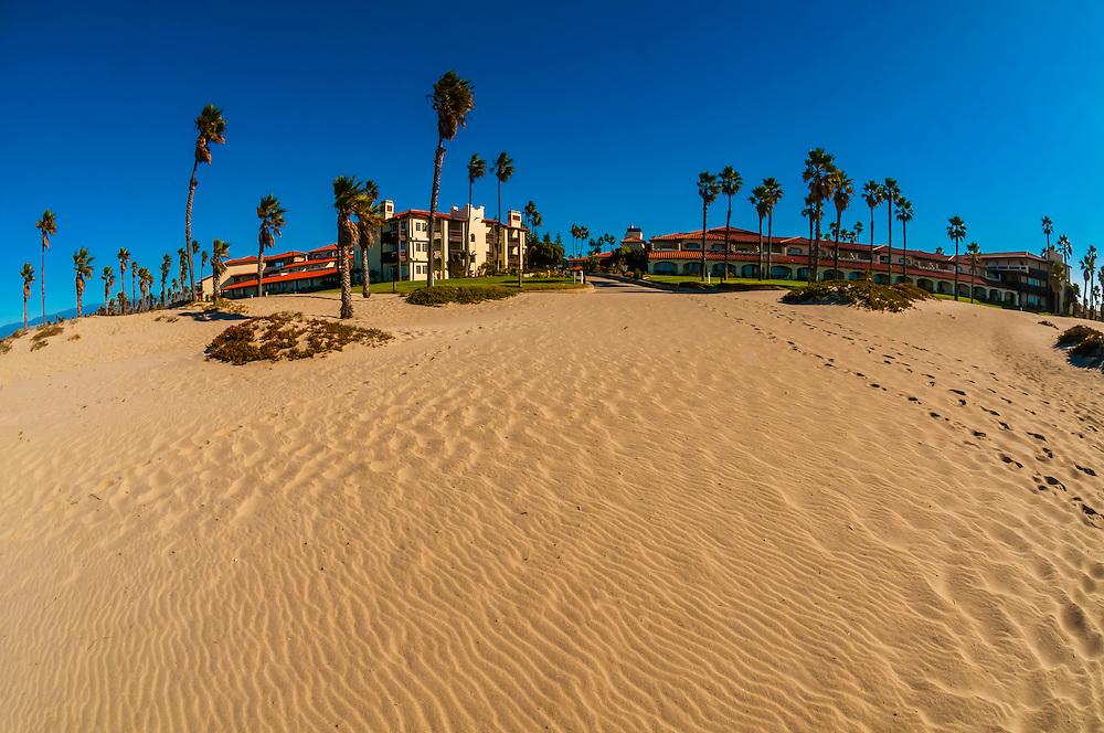 Beach at Embassy Suites Mandalay Beach Hotel & Resort, Oxnard, California USA