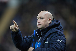 Rangers Manager, Kenny McDowall. Falkirk 1 v 1 Rangers, Scottish Championship game played 27/2/2014 at The Falkirk Stadium .
