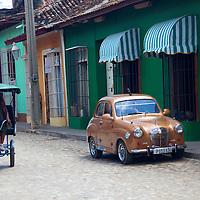 Central America, Cuba, Trinidad. Transportation in Trinidad.