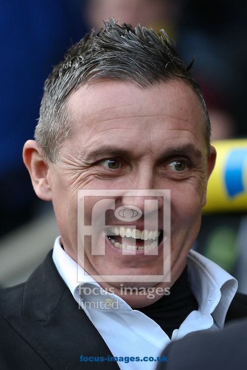 Picture by David Horn/Focus Images Ltd +44 7545 970036.26/01/2013.Paul Buckle , Manager of Luton Town during the The FA Cup match at Carrow Road, Norwich.