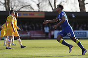 Action taken during the EFL Sky Bet League 1 match between AFC Wimbledon and Millwall at the Cherry Red Records Stadium, Kingston, England on 2 January 2017. Photo by Stuart Butcher.