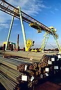 New Jersey, steel rebar manufacturing.