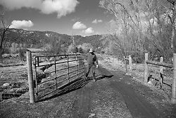 2013 APR 01: Jock Jacober of Crystal River Meats in the Thompson Divide near Carbondale, CO. (Joshua Duplechian/Trout Unlimited)\