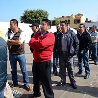 Metepec, México.- El ayuntamiento de Metepec en coordinación con e DIF municipal llevaron a cabo una Feria de Salud para hombres, para realizarles estudios de Antígeno Prostático, Glucosa,  Peso, Talla, Vacunación entre otros, y cuiden su salud.  Agencia MVT / Crisanta Espinosa
