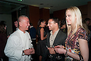 nobu matsuhisa; RAVI CHOPRA;  VANESSA WURM;, Nobu anniversary party. Met Bar, 19 Old Park Lane, London, 7 March 2012.