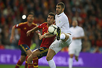 FOOTBALL - FIFA WORLD CUP 2014 - QUALIFYING - SPAIN v FRANCE - 16/10/2012 - PHOTO MANUEL BLONDEAU / AOP PRESS / DPPI - KARIM BENZEMA