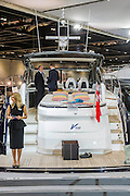 The Princess Stand. The CWM FX London Boat Show, taking place 09-18 January 2015 at the ExCel Centre, Docklands, London. 09 Jan 2015.