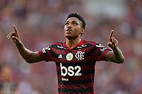 2019-11-03 Rio de Janeiro, Brazil soccer match between the teams of Flamengo and Corinthians , validated by the Brazilian Football Championship .in the photo Vitinho  of Flamengo  club celebrates his goal Photo by André Durão / Swe Press Photo