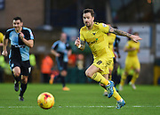 Oxford forward Chris Maguire during the Sky Bet League 2 match between Wycombe Wanderers and Oxford United at Adams Park, High Wycombe, England on 19 December 2015. Photo by David Charbit.