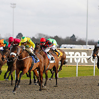 The Young Master and Liam Keniry winning the 3.00 race