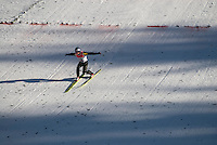 Adam Malysz (POL) competes in the World Cup Ski Jumping competition at Whistler Olympic Park on Sunday January 25, 2009