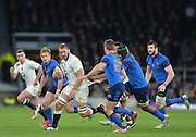 Twickenham, Great Britain, Chris ROBSHAW, breaking with the ball, during the Six Nations Rugby England vs France, played at the RFU Stadium, Twickenham, ENGLAND. <br /> <br /> Saturday   21/03/2015<br /> <br /> [Mandatory Credit; Peter Spurrier/Intersport-images]