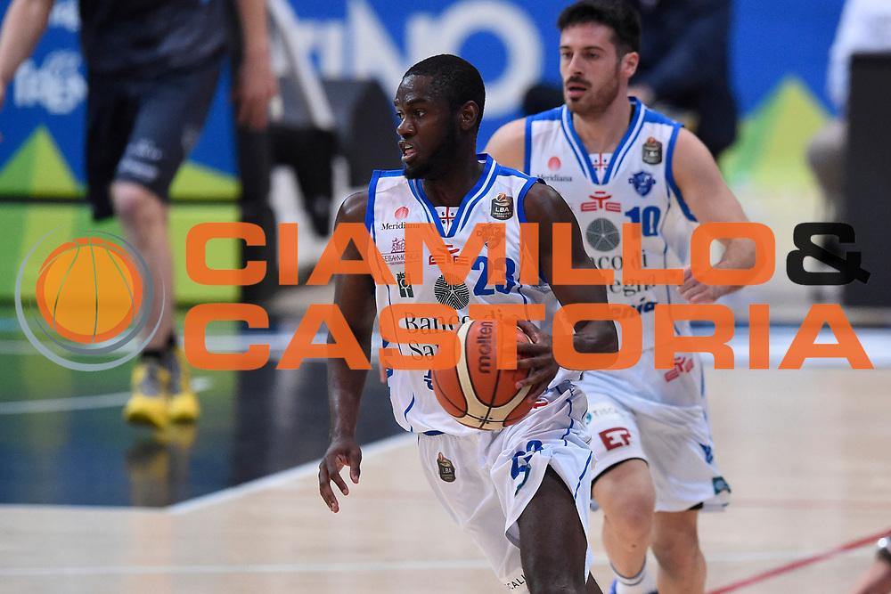 Carter Josh<br /> Quarti di Finale Gara 2<br /> Legabasket A 2016,2017<br /> Trento 14,05,2017<br /> Foto Ciamillo-Castoria,GiulioCiamillo